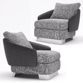 Minotti Lawson Large Armchair