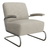 Armchair S411 LV by THONET