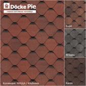 Seamless texture of shingles DOCKE collection Nitsa