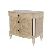 Eye of the Tiger nightstand by Caracole.