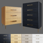 Odetta Three & Five - Drawer Dresser