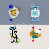 Childroom Clock Models 01