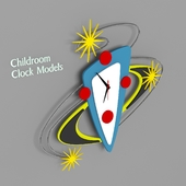 Childroom Clock Model 03