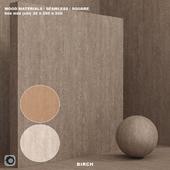 Material wood / decor / birch (seamless) - set 63