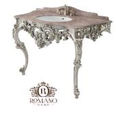 (OM) Isabella Bathroom Console (2 legs) Romano Home