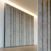 Декоративная стена. Мягкая панель. 53