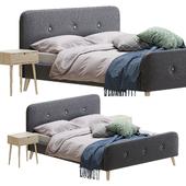Кровать Jysk Kongberg