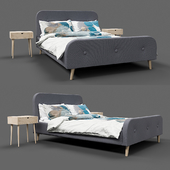UK Bed Frame Kongsberg by Jysk