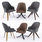 Ozzio armchairs