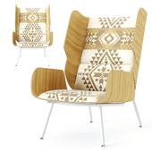Gus x Pendleton Elk Chair