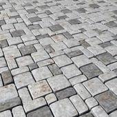 Paving stone old / Old stone blocks
