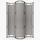 Cox London - Iron and rattan screen