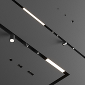 Flexalighting Linear and Trimless downlights
