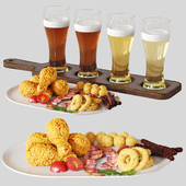 Beer Set with Snack