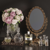 DECORATIVE SET 19 Classic Mirror decoration