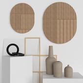 OM Kristina Dam / Decoration set