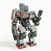 Overwatch Bastion toy