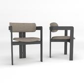 Gallotti & Radice armchair 0414 / Chair Gallotti & Radice 0414
