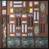 Indochine Wall Panel