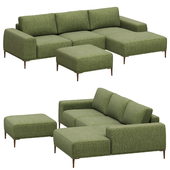 Dantone Home Sofa Oslo corner right