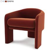 Vladimir Kagan Weiman Lounge Chair