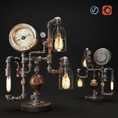 Steampunk Industrial 7.5 Steam Gauge