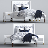 Tall Broderick Tufted Bed