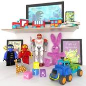 Hasbro Toys set