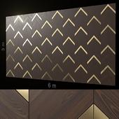 Decorative wall 210.