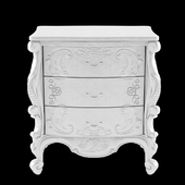 French Bedside 3 Drawer