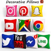 Decorative pillows set 406 Etsy