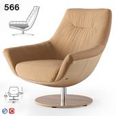 Armchair Rolf Benz 566 (2)