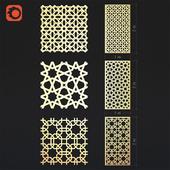 Islamic 3d panel