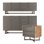 Hedberg nightstand, chest of drawers, TV stand