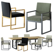 HARBOUR / BAROSSA DINING CHAIR AND TABLE