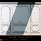 Wall molding 6. Boiserie classic panels