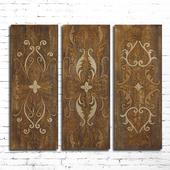 Wooden panel 85