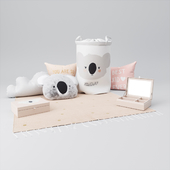 H & M HOME nursery decor