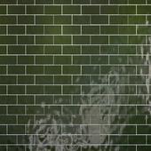 Tiles set Geometry Pattern Green