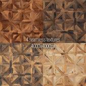 A set of seamless texture parquet v1
