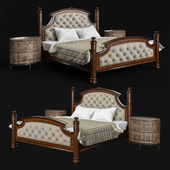 Drexel Heritage Rainier Upholstered Bed