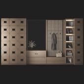 Мебельная композиция для прихожей 66