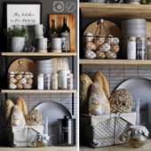 Decorative set for the kitchen 6