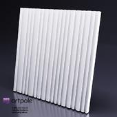 Gypsum 3d panel BARCODE from Artpole
