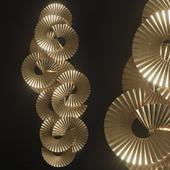 THAI NATURA Escultura metal dorado