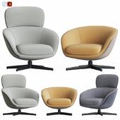 Minotti Russell Lounge Armchair Set