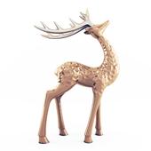 Deer statuette