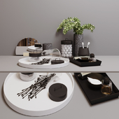 decorative bathroom set