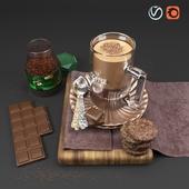 Decorative Kitchen Coffee Set