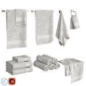 White Towels Set
